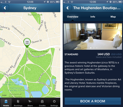 hotelquickly2 HotelQuickly launches its same day hotel booking app in Australia with Sydney and Melbourne listings