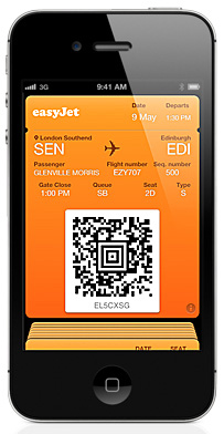EasyJet trials mobile check ins and boarding passes from its iOS and Android apps in 6 airports