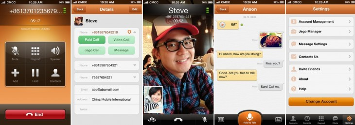 jego app 730x258 China Mobile targets overseas growth as it prepares to launch a mobile Skype competitor