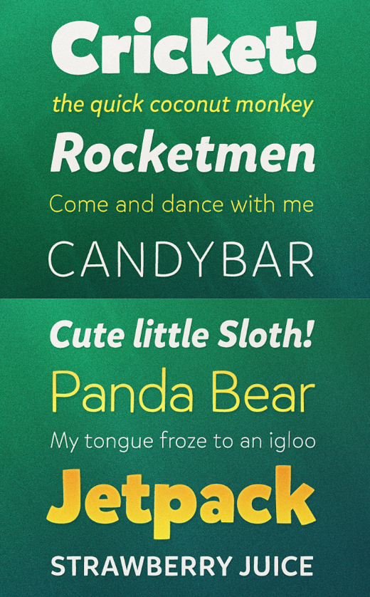 mikado 30 of the most beautiful typeface designs released last month (April)