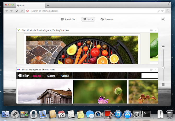 opera mac stash Opera releases new Chromium powered desktop browser for Mac and Windows