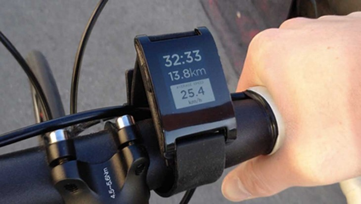 photo cycling 730x414 RunKeeper rolls out Pebble smartwatch integration on iOS and Android