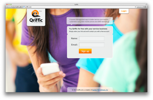 qriffic 520x339 Issue v1.5   Startups to follow