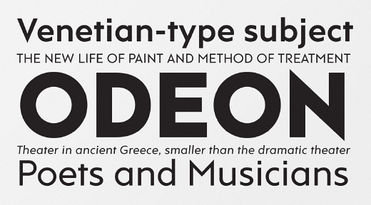 rams 30 of the most beautiful typeface designs released last month (April)