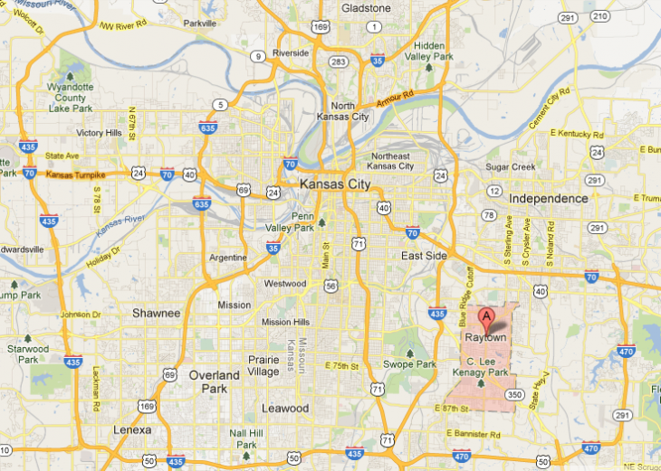 raytown 730x521 Google reveals Raytown, Missouri as the tenth Kansas City area expansion in line to get Fiber