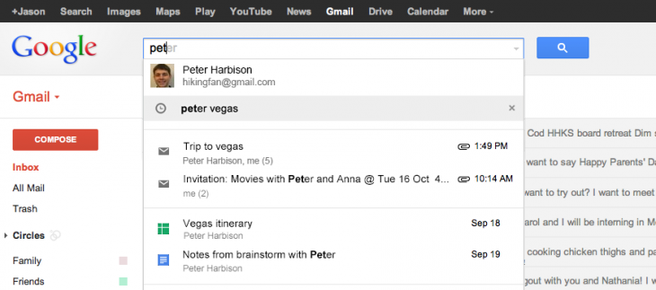 searchimprovements 730x323 Google adds Google Drive files and Calendar events to Gmails search for US users