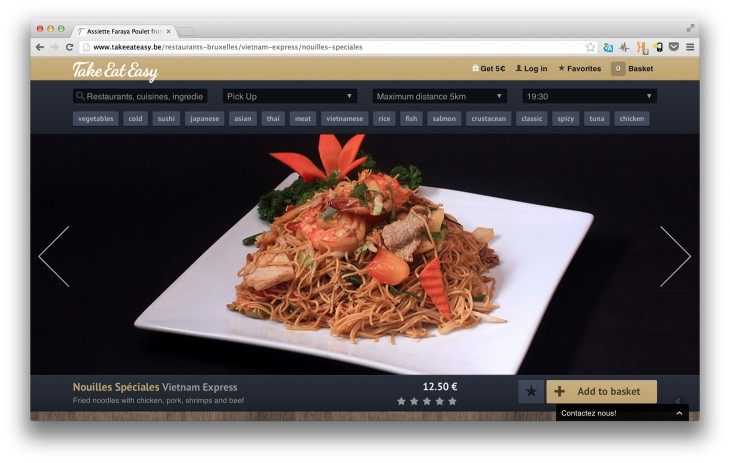 take eat easy 730x463 Take Eat Easy cooks up a $263,000 seed round with its mouthwatering visual search engine for takeaway food