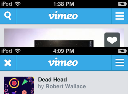 vimeo button Vimeo overhauls its mobile site with commenting, improved search, video uploading, and more