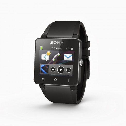 1 Smartwatch 2 Black Angled 520x520 Sony to sidestep Googles Android Wear OS for its own Android wearables