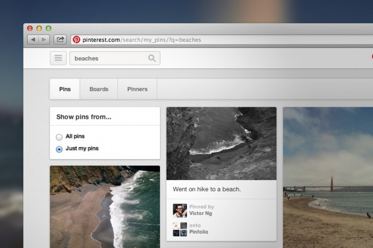 2013060401 730x486 Pinterest's new search filter helps users find their old pins on the Web, will launch soon on mobile