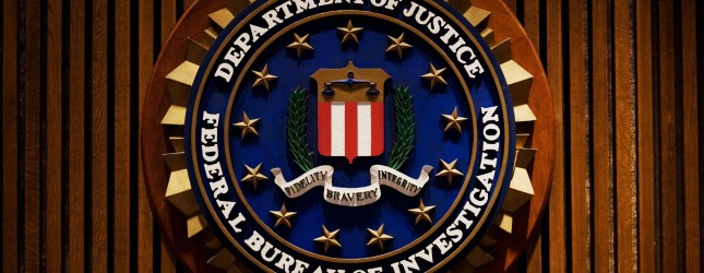 A crest of the Federal Bureau of Investi