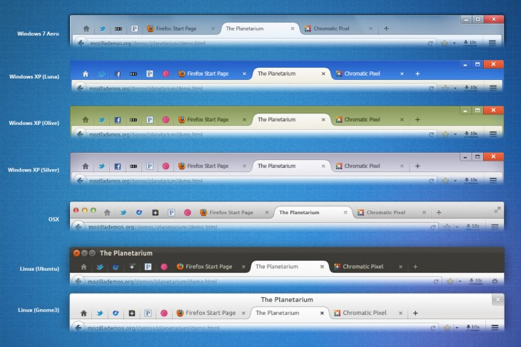 Australis i02 Tabs 730x486 Mozilla is planning a major design overhaul with the release of Firefox 25 in October: Heres a quick peek