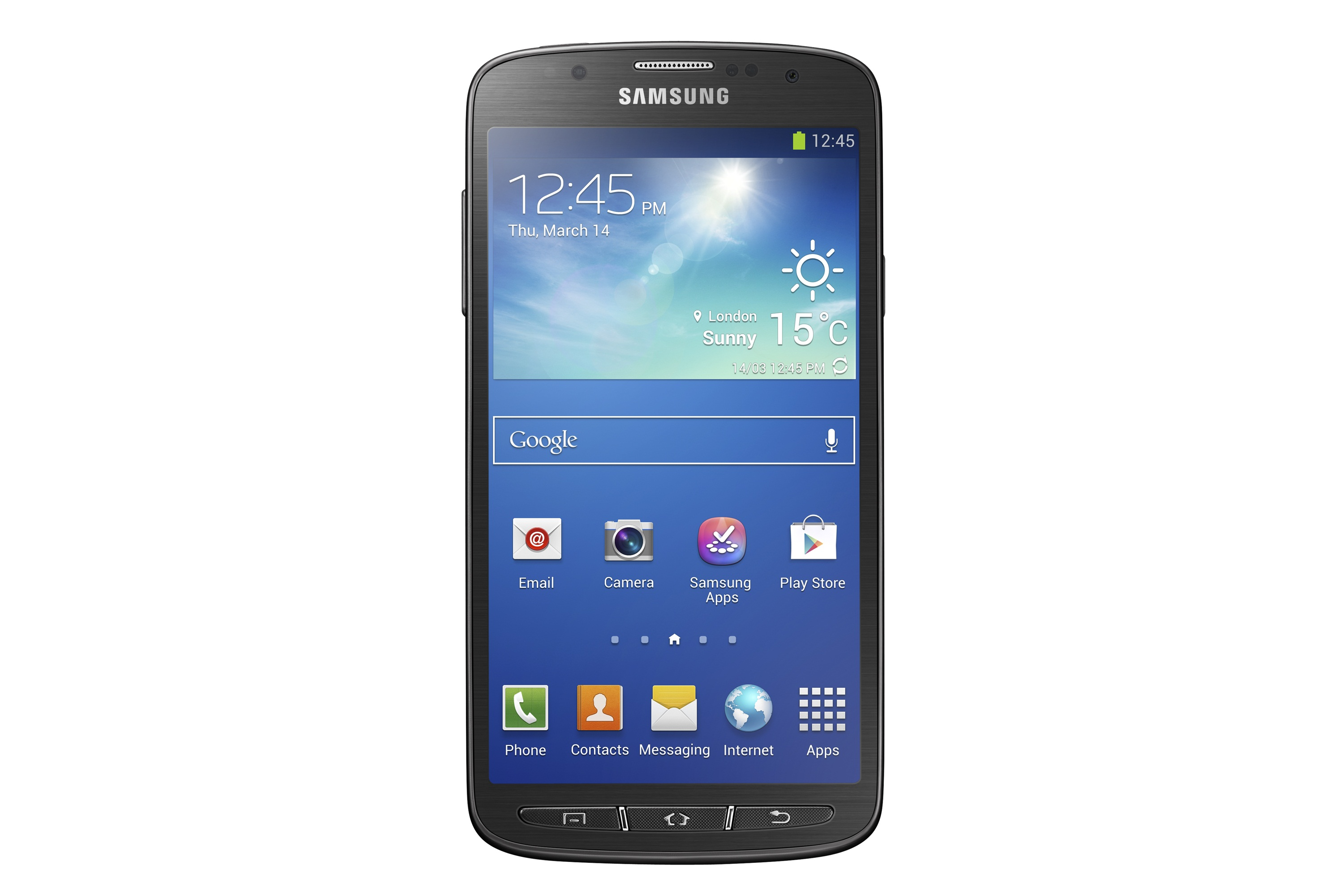 "Samsung Unveils 5"" Galaxy S4 Active Android Smartphone"