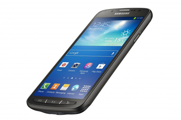 GS4 Active 009 730x486 Samsung's Galaxy S4 Active is a waterproof Android smartphone with a 1080p display and 8MP camera