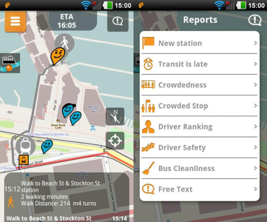 Moovit Crowd sourced navigation service Moovit blasts past 1m user mark