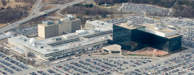 The National Security Agency (NSA) headq