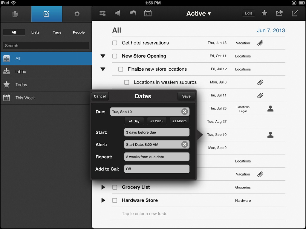 NoteSuite iPad Screen 2_ToDo_Med