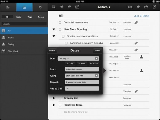 NoteSuite iPad Screen 2 ToDo Small 520x390 NoteSuite takes on Evernote with paid for apps, no subscription fee and free user data
