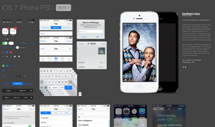 Screen Shot 2013 06 13 at 7.56.46 AM 730x433 Design studio Teehan+Lax posts fantastic iOS 7 UI design templates