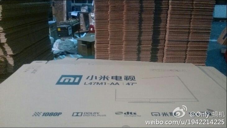 Xiaomi TV pic Chinese phone maker Xiaomi reportedly releasing a 47 inch TV in August as it diversifies its business