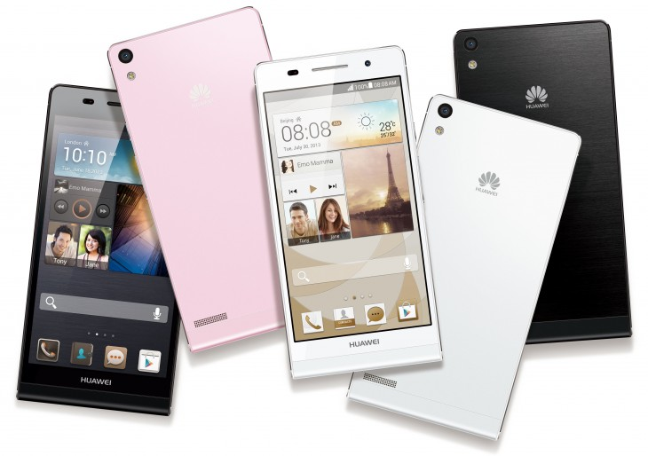 ap621 730x514 Huawei launches the Ascend P6, the worlds slimmest Android smartphone with a 5MP front facing camera