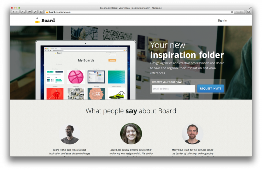 creonomy board 520x339 Issue v1.6   Startups to follow