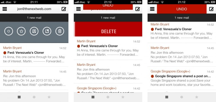 delete 730x346 Dispatch adds Pocket, Readability and Passbook support to its already impressive iOS email app