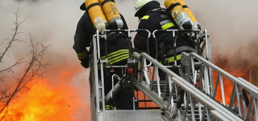 Fire Scorches Berlin Apartment