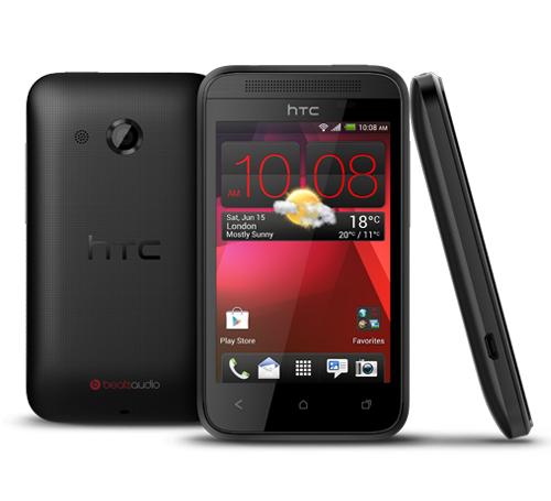 htc desire 200 black en slide 01 HTC Desire 200 emerges as a low end, 3.5 Android smartphone with a 5MP camera and Beats Audio