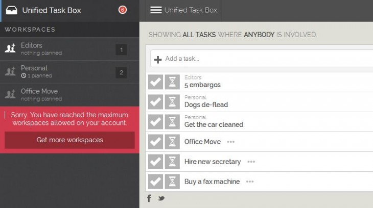 m1 730x408 Postpone is a simple to do list Web app with scheduling and shared workspaces for specific projects