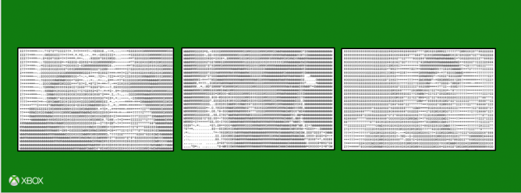 microsoft ascii 730x271 Microsofts Xbox Facebook page has turned into an epic ASCII art flame war