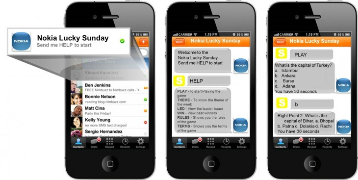 nimbuzz nokia 730x367 Nokia taps into mobile messaging with new campaign to reach users of Nimbuzz in India
