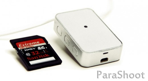 parashoot2 520x284 ParaShoot is a wearable HD video device that takes lifelogging beyond snapping photos