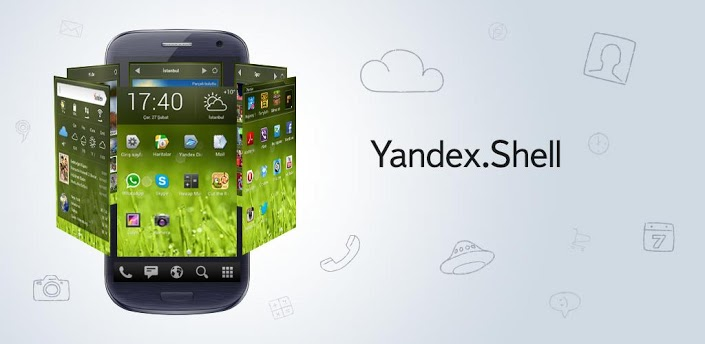 unnamed Yandex debuts Yandex.Shell, a free 3D ish UI alternative for Android devices