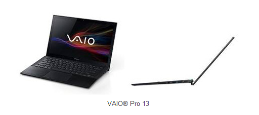 vaiopro13 Sony launches three new Haswell powered ultrabooks, including the Vaio Duo 13 laptop tablet