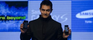 Indian actor Samsung