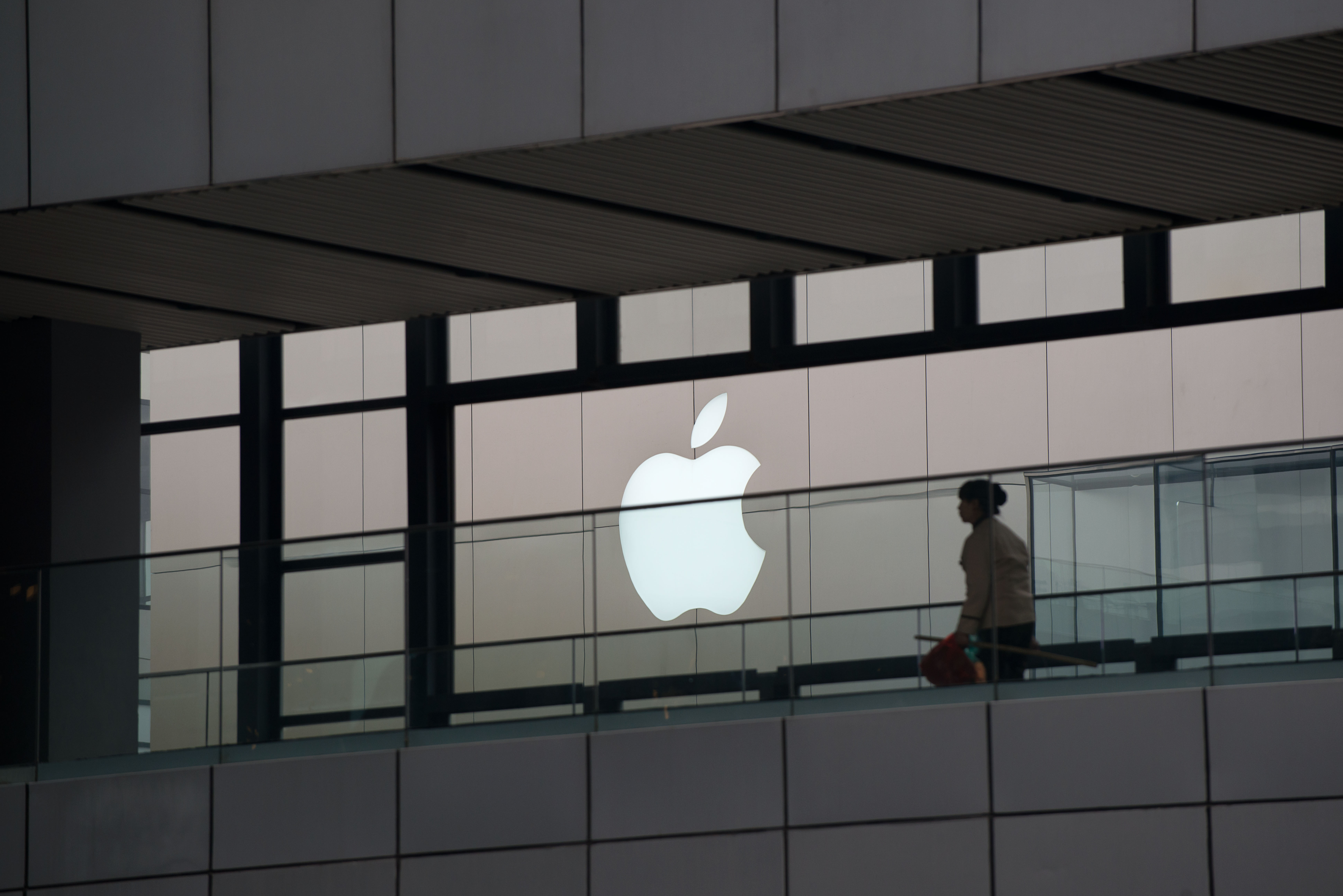 CHINA-US-IT-TELECOM-APPLE