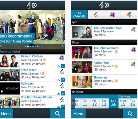 4odiphone The UKs Channel 4 updates its 4OD app on Android and iOS with downloads for offline playback