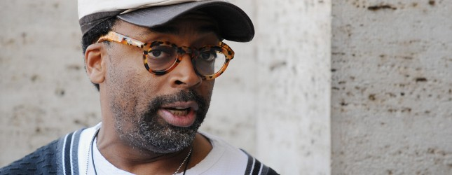 US film director Spike Lee poses during