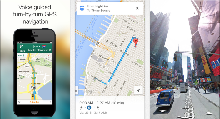 Google Maps 1 Google Maps update for iOS rolls out with iPad support, enhanced navigation and indoor mapping