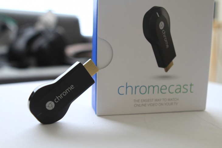 IMG 9656 730x486 Hands on with Googles Chromecast, a tiny set top box for the Web