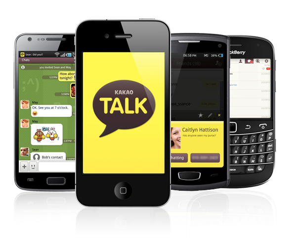 KakaoTalk Screenshots Koreas Kakao Talk becomes the latest Asian mobile messaging app to pass 100 million users
