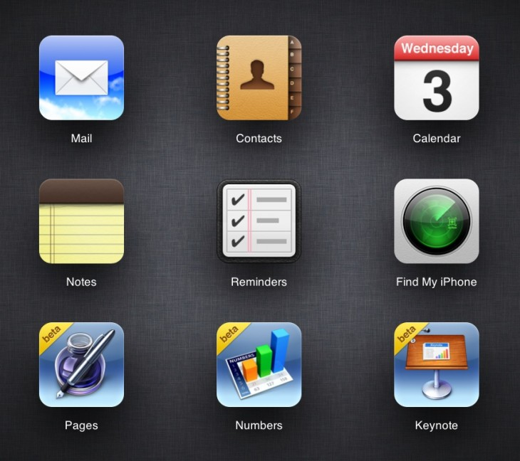 Screen Shot 2013 07 03 at 3.26.51 PM 730x648 Some free tier Apple Developers given access to iWork for iCloud beta