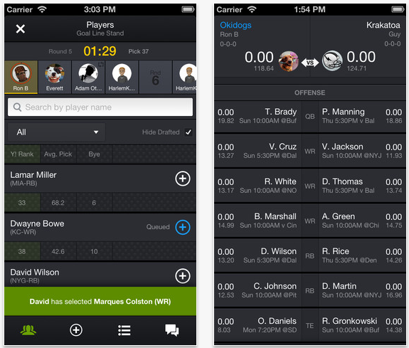 Screen Shot 2013 07 25 at 10.39.36 AM Yahoo bundles up its fantasy games into a new Fantasy Sports app for Android and iOS