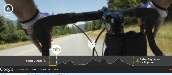 TDF2 730x320 Google guides you through the Tour de France with a new interactive site featuring Street View imagery