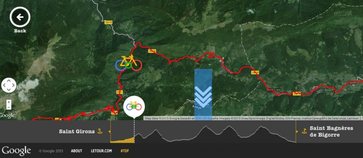 TDF3 730x319 Google guides you through the Tour de France with a new interactive site featuring Street View imagery