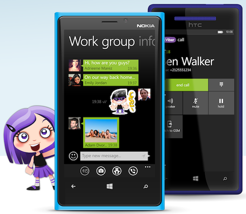 WP v2.3 Promo Image 1 Viber upgrades desktop and WP8 apps, says the latter sees 500k downloads per month