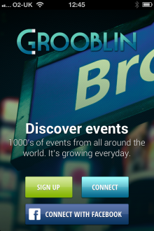 a1 220x330 Grooblin for iOS is an easy way to discover events in your area
