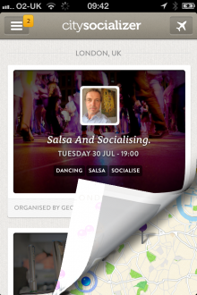 a15 220x330 Citysocializers iOS app now plots social gatherings on a map to let you see local activities at a glance