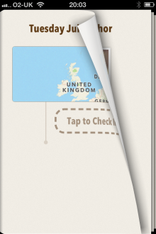 a6 220x330 Ohai for App.net is a simple journal app to log your check ins on your iPhone